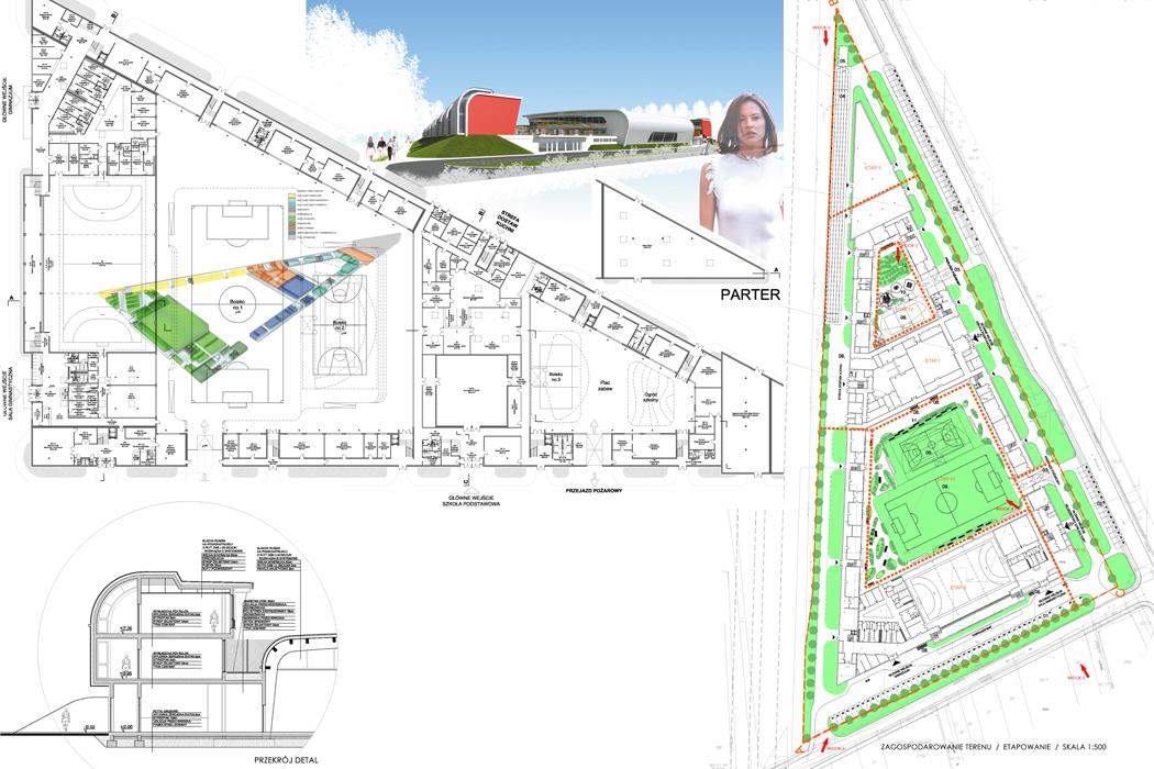 : Budynek szkolny - Jabłonna