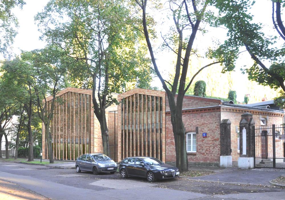 : Budynek Wydziału Rzeźby warszawskiej ASP