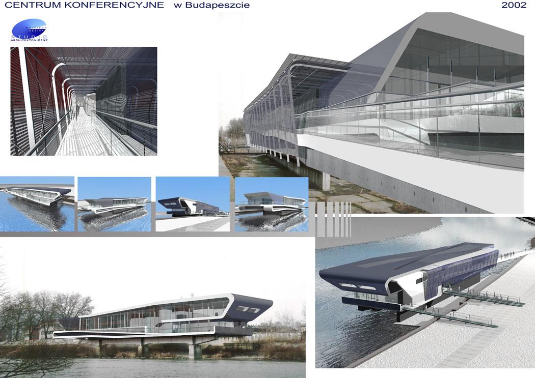 : Centrum Konferencyjne - siedziba Graphisoft, Budapeszt