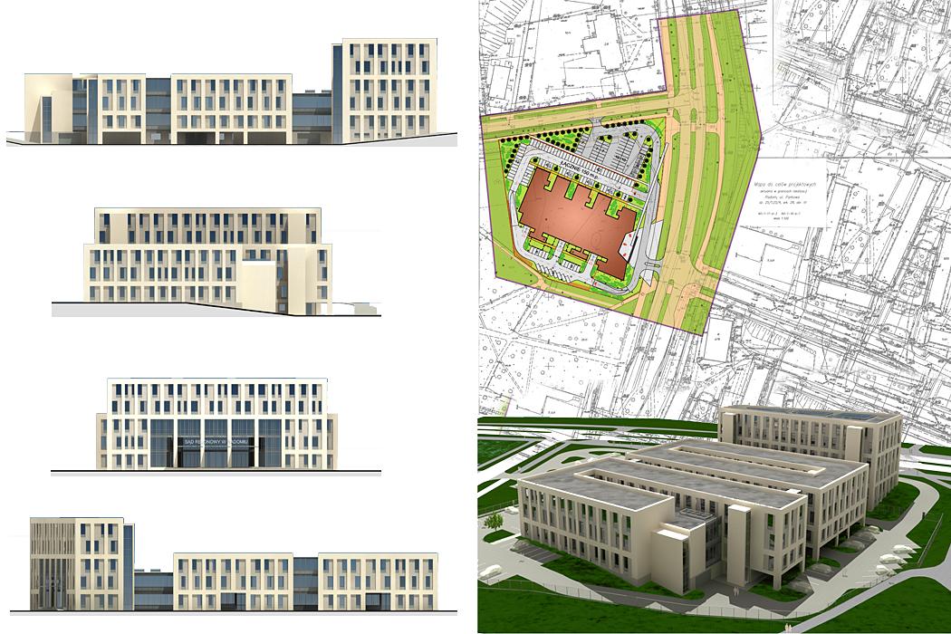 : Budynek Sądu Rejonowego i Prokuratur Rejonowych w Radomiu