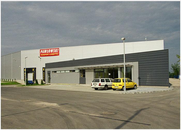 : Centrum logistyczne 'Pawłowski' - Radom, ul. Kielecka